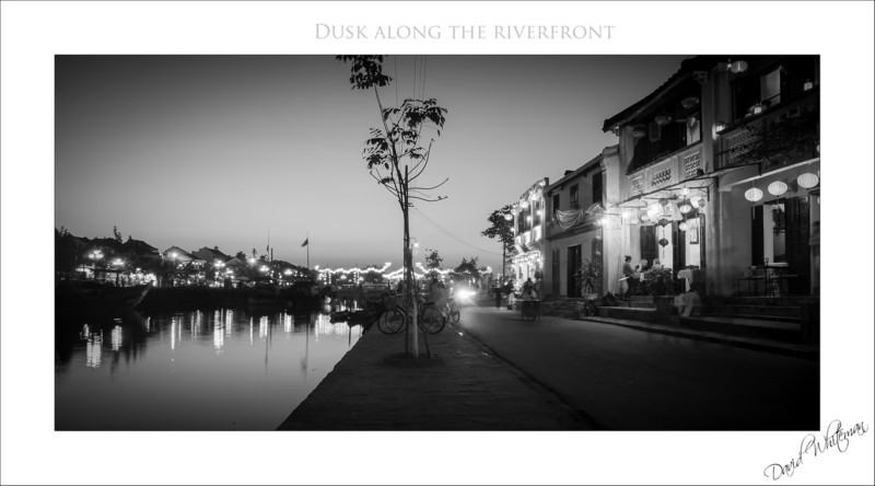 Dusk Along the Riverfront