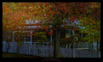 Blackheath Cottage in Autumn