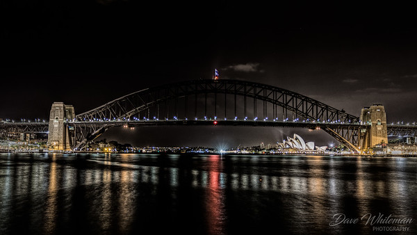 Sydney Icons at Night