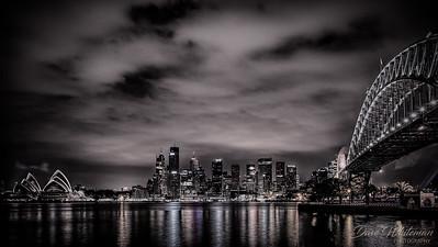 Sydney Icons at Night