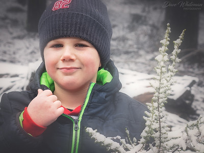 Ethan in the Snow