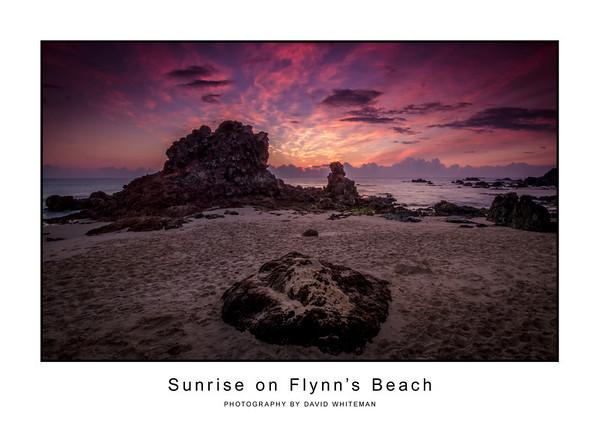 Sunrise on Flynn's Beach