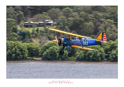 Stearman on the River