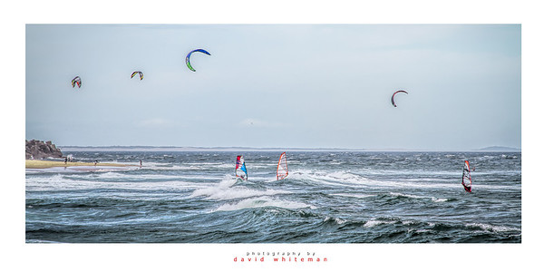 Windsurfers off Nobbys