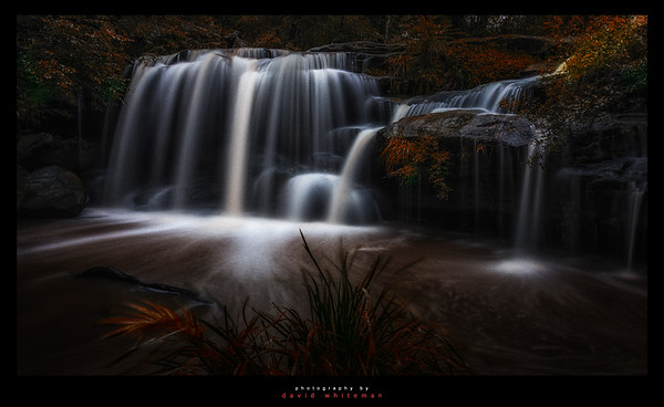 Hunts Creek Falls in Autumn