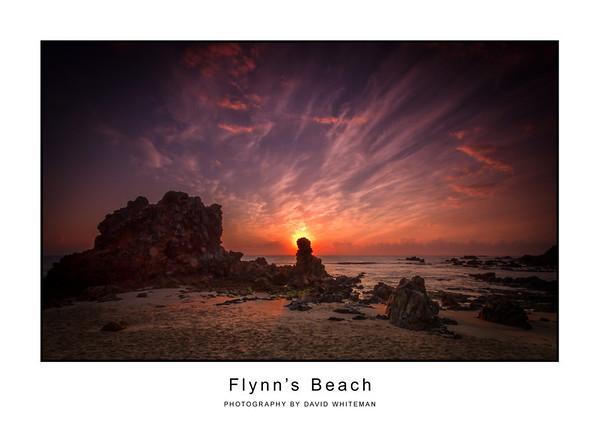 Sunrise Flynns Beach