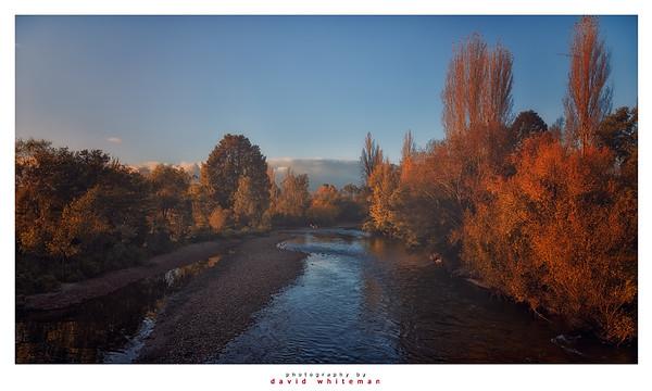 Daybreak on the Tumut River