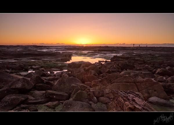 Daybreak at Bluff Point