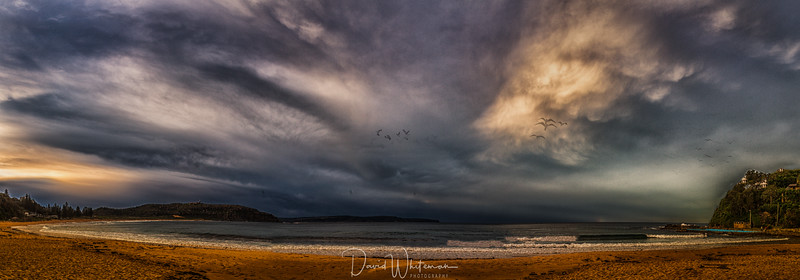 Stormy Afternoon Over Summer Bay