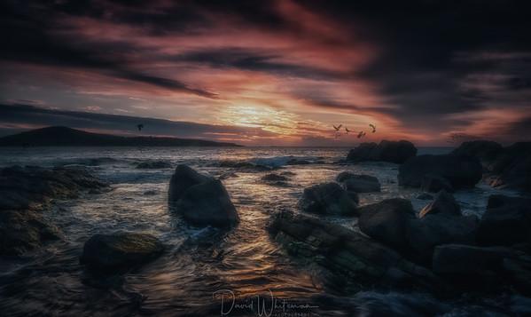 Sunrise at Fingal Bay