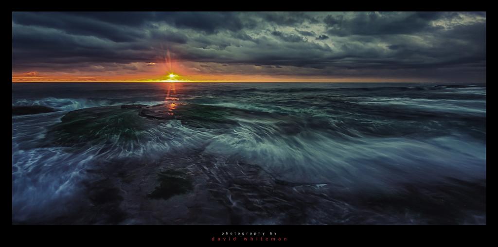 Bilgola Stormy Sunrise