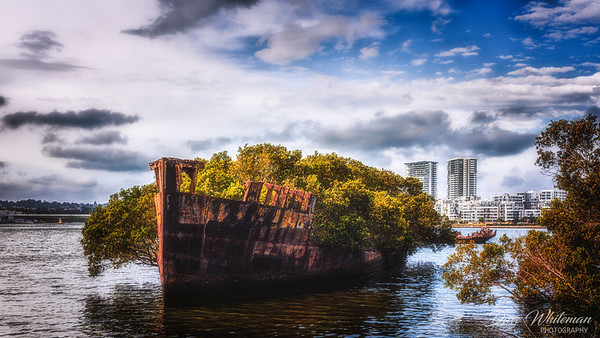 Wreck of the S.S. Ayrshire