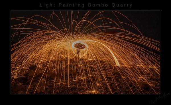 Light Painting Bombo Quarry