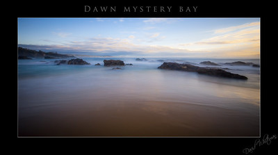 Dawn at Mystery Bay