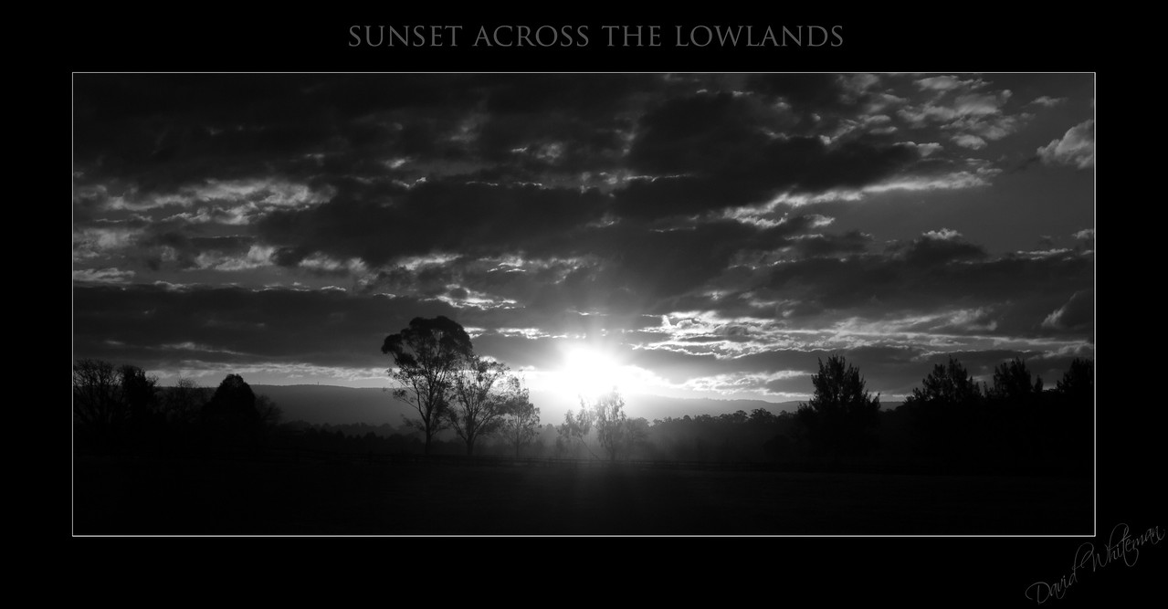 Sunset Across the Lowlands