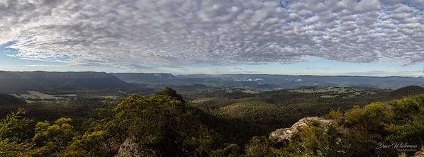 Megalong Valley and the Wild Dog Mountains