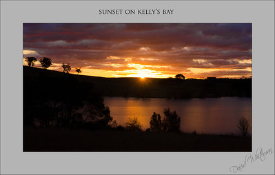 Sunset on Kelly's Bay