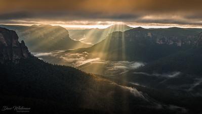 Sunbeams in the Valley