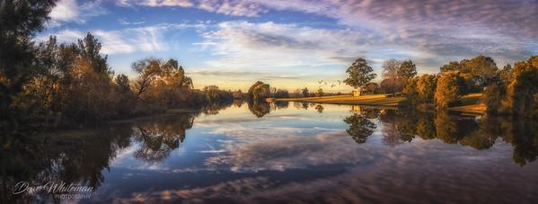 Sunset over Yarramundi Farm