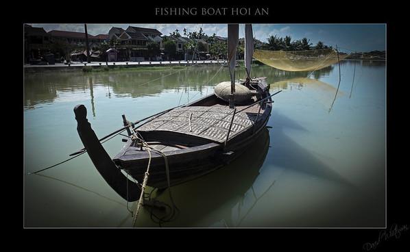 Fishing Boat - Hoi An