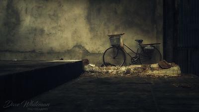Bicycle in Saigon