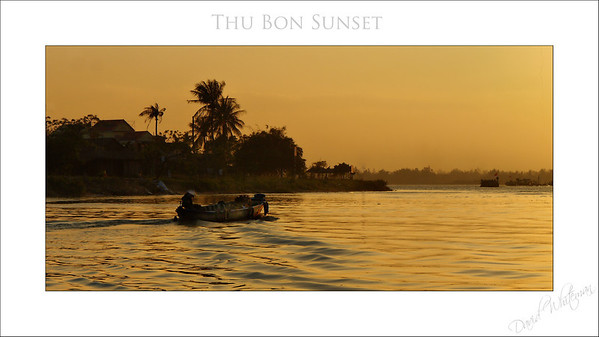 Thu Bon River Sunset