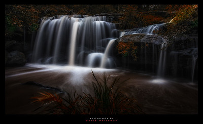 Hunts Creek Falls in Autumn