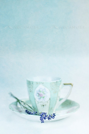 Lavender and Tea Cup