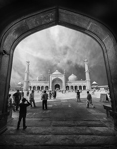 Young Photographer, Fine Art Photography, Masjidi JahānNumā Mosque' in Delhi, India