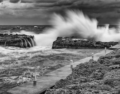 Gathering Storm, Black and White Fine Art Photography