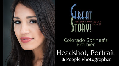Top Headshot, Portrait and People Photographer in Colorado Springs, Colorado