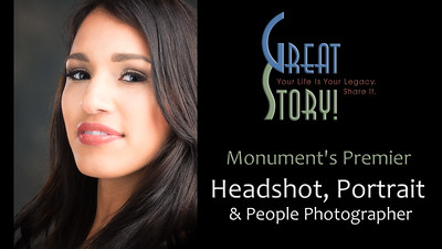Top Headshot, Portrait and People Photographer in Monument, Colorado