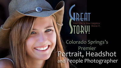 Premier Professional Portrait Photographer in Colorado Springs, Colorado