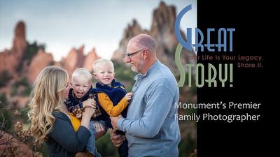 Family Photographer in Monument Colorado, Family Portrait