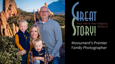 Family Photographer in Monument Colorado, Family Portrait