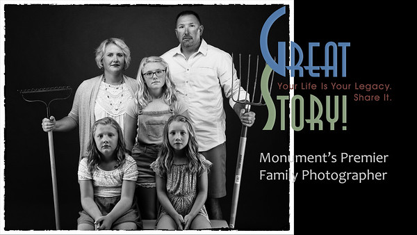 FUN Family Photographer in Monument Colorado, Family Portrait