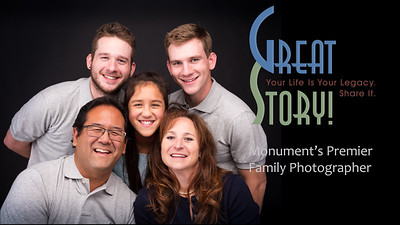 Family Photographer in Monument Colorado, Rowe Portrait