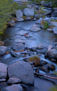 Oak Creek on a fall morning.