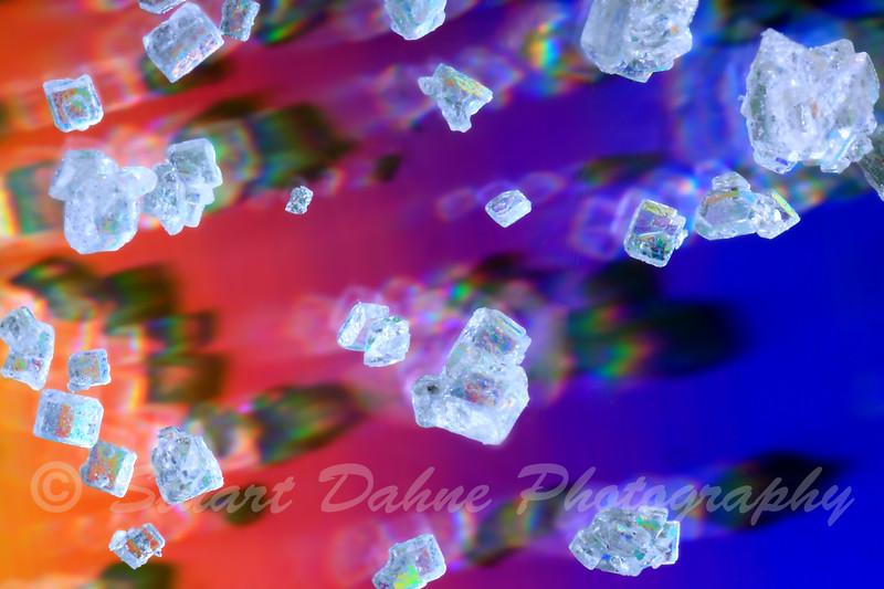 Organic Sugar Crystals at 5X magnification!
