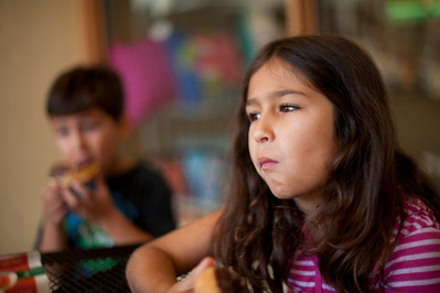 Isabel realizes she doesn't actually like chocolate frosted donuts - she makes this mistake often: ordering by how it looks, not how it tastes.