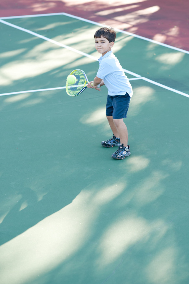 2011.12.07 Tennis with Grandpa