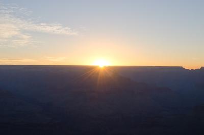 The Grand Canyon Sunrise Tour: Taken by Rene