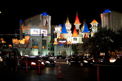 Excalibur: Where we stayed in Las Vegas.