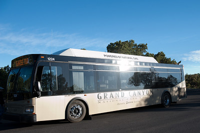 The Grand Canyon Sunrise Tour: The Bus.