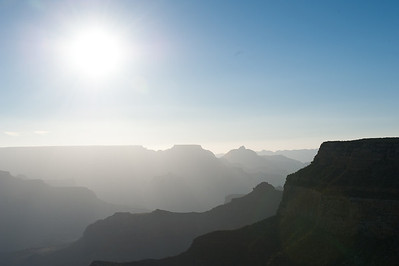 The Grand Canyon Sunrise Tour: A second stop on the tour.