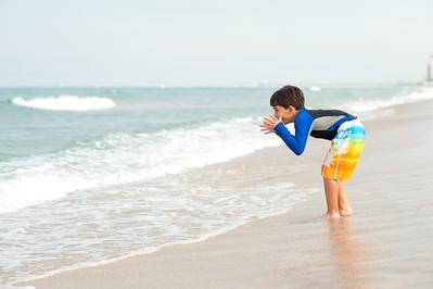 Mocking the ocean. Never a good idea.