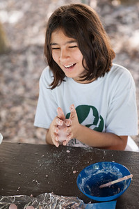 Girl Scout Thinking Day Campout at Camp Mahachee, Girl Scouts