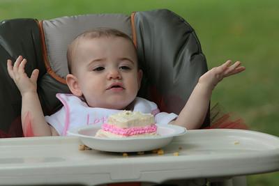 Aspen's first birthday