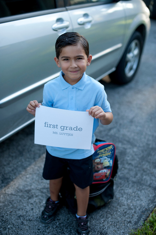 2011 First Day of School