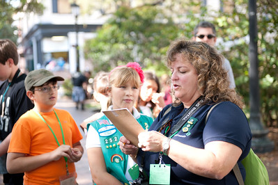 Girl Scout Scavenger Hunt